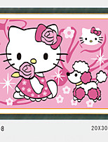 DIY Digital Oil Painting With Solid Wooden Frame Family Fun Painting All By Myself   Kitty  3008