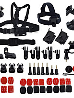 Ourspop GP-K15   50-in-1 Accessories Kit for Gopro Hero4 3+/3/2/1  Camera