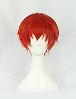 Parrucche Cosplay - Altro - Altro - 30cm - Rosso