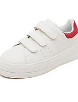 Zapatos de mujer - Plataforma - Comfort - Sneakers a la Moda - Exterior - Semicuero - Negro / Rojo