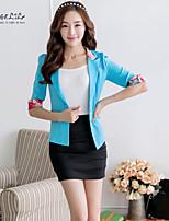 Women's Casual Thin 1/2 Sleeve Regular Blazer