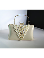Women 's PU Hobo Clutches/Evening Bags - Gold/Silver