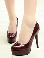 Women's Shoes  Stiletto Heel Heels/Pointed Toe Pumps/Heels Office & Career/Casual Black/Red/White/Burgundy