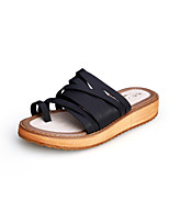 Girls' Shoes Dress / Casual Slingback / Comfort / Open Toe Sandals Black / Brown / White