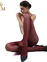 GEM Women Core Spun Yarn Thin Pantyhose