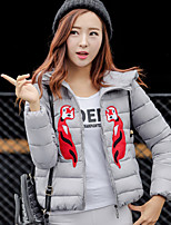 Women's Casual Slim Long Sleeve Short Cotton Coat