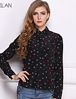 Women's Chiffon Anchors Top Shirts