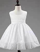 Girl's Chiffon/Cotton/Mesh Dress , Summer Sleeveless