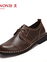 Men's Shoes Office & Career/Casual/Party & Evening Leather Oxfords Brown