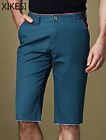 Men's Casual/Work Pure Shorts Pants (Cotton) XKS7C15