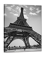 VISUAL STAR®Eiffel Tower Canvas Wall Art Printing Ready to Hang