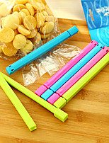 1PCS Easyfashion Home Kitchen Colorful Food Plastic Bag Seal Sealing Clip Clamp Sealer (Random Color)