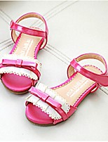 Girls' Shoes Casual Open Toe Sandals Pink/Gold