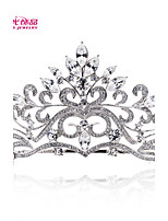Neoglory Jewelry Leaf Wedding Tiaras Crystals Crowns Bridal Hair Accessories Women Wedding Jewelry