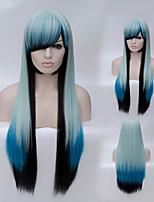 la bella di alta qualità ad alta temperatura modo di seta ragazza preparerà una parrucca