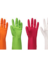 Waterproof Rubber Latex Gloves for Dish Car Washing Laundry Housework Stylish