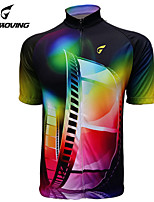 Getmoving Personalized Outdoor Riding Suit + Clothes + Short Sleeved Jersey Stunning Color Gradient