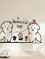 Removable Little Animal's House of Children's Room / Bedroom Wall Sticker