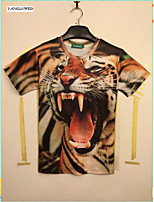 Organisch katoen/Spandex Heren - T-shirt - Informeel - Korte mouw