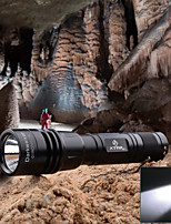 XTAR RC1 IPX8 Waterproof Micro USB Rechargeable XP-G2 450lm LED Flashlight - Black (1 x 18650)