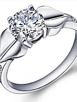 Volcano 925 Silver Swiss Diamond Ring Crown SZR0055 Flammable