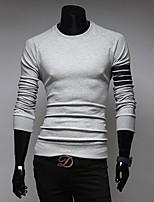 Men's Long Sleeve T-Shirt , Cotton Casual Pure