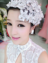 Dame Stoff Headpiece Bryllup/Spesiell Leilighet Blomster Bryllup/Spesiell Leilighet 1 Deler