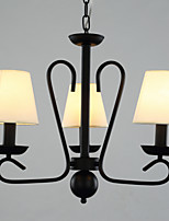 Stylish Chandelier with 3 Lights in Antique Style