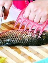 auxílio pata carne em forma de ferramenta de corte cozinha dedo guard (cor aleatória)