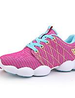 Zapatos de mujer Sintético Tacón Plano Punta Redonda Sneakers a la Moda Casual Azul/Negro/Rosa/Morado/Gris
