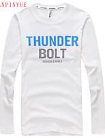 Quality Cotton 2015 Men Long Sleeve Sport MEn T-Shirt