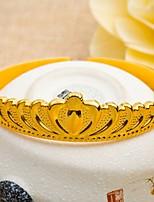 24K gold plating  Crown Bracelet