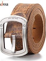 ALLFOND Men Vintage/Cute/Party/Work/Casual Alloy/Leather Calfskin Buckle/Waist Belt 1520-01