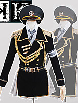 Anime <K > K Project The Missing King Neko Military Uniform CosplaySuit
