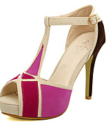Women's Shoes Stiletto Heel Peep Toe/Open Toe Sandals Casual Yellow/Pink/White