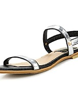 Women's Shoes Low Heel Open Toe Sandals Casual Black