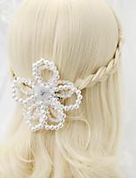 Strass Legierung Künstliche Perle Kopfschmuck-Hochzeit Besondere Anlässe Kopfkette