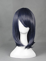 Blizzard Entertainment Heroes of the Storm Diablo3 Valla Ink Blue 45cm Cosplay Wigs