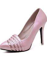 Women's Shoes Stiletto Heel Heels/Pointed Toe Pumps/Heels Casual Pink/Silver/Gold