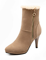 Women's Shoes Stiletto Heel Round Toe Boots Casual More Colors available