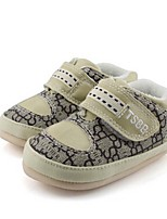Baby Shoes Casual Fabric Fashion Sneakers Gray/Beige