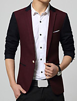 Men's Casual Long Sleeve Regular Blazer