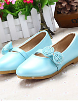 Girls' Shoes Outdoor/Dress/Casual Round Toe/Closed Toe Faux Flats Blue/Pink/Coral