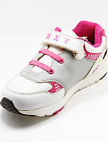 Girls' Shoes Casual Round Toe Synthetic Fashion Sneakers White