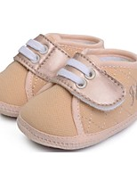 Baby Shoes Casual Fabric Fashion Sneakers Pink/Khaki