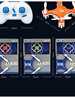 JJ820 2.4G 4ch 6-axis Gyro Nano Micro RC Orange Quadcopter 360 Degree 4cm Size 13-0047