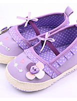 Baby Shoes Casual Fabric Flats Purple/Red/White