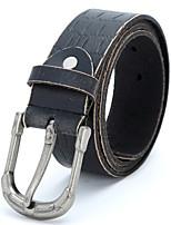 debaoli® Men's Genuine Leather Belt Fashion Retro Style Pin Buckle Belt
