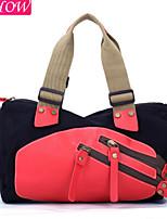 Fashion Women's Canvas Casual Shoulder Bag Retro Rucksack Messenger Bag Bucket Sport Handbag