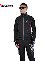 ACACIA winter cycling windproof suit Winter Fleece Long sleeve Jersey/Pants Cycling Jersey Bicycle Clothing+Long Pants